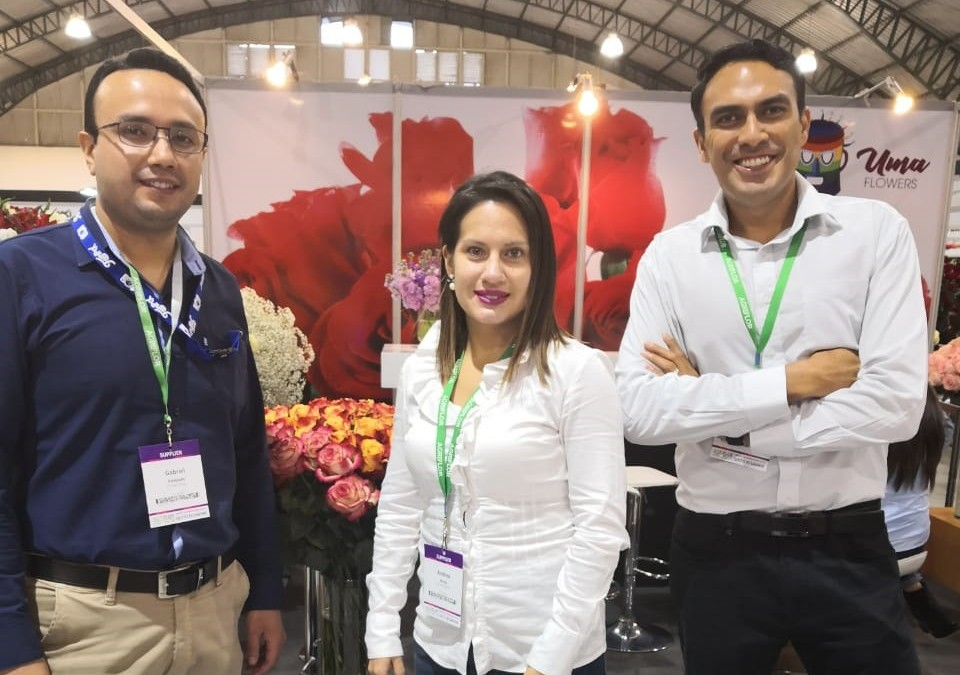 Flower Cargo at Agriflor 2019 exhibition