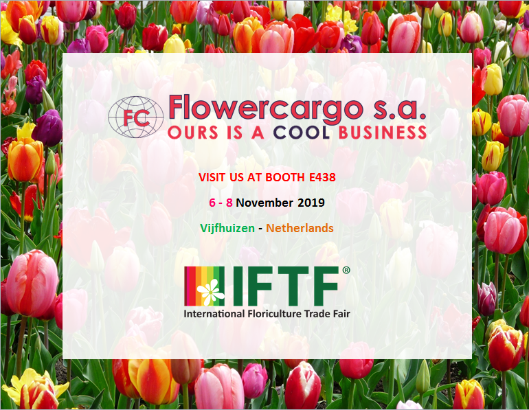 Flower Cargo, exhibitor at IFTF 2019